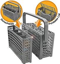 Universal Dishwasher Silverware Replacement Basket - Utensil/Cutlery Basket - Fits Bosch, Maytag, Kenmore, Whirlpool, KitchenAid, LG, Samsung, Frigidaire, GE
