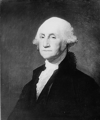 "George Washington Photograph - Historical Artwork from 1900 - US President Portrait - (13"" x 19"") - Semi-Gloss"