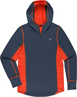 New Balance Boys' Athletic Hooded Pullover Tee