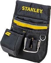 Stanley Heuptas/gereedschapsriem (33,2 x 23,5 x 7,5 cm, 600 denier nylon, met 2 nagelzakken, 1 hamerhouder en 1 meettasje,...