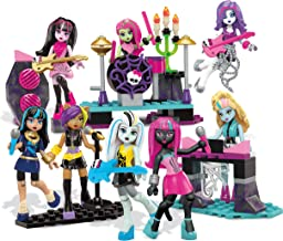 Mega Bloks Monster High Glam Ghoul Band Building Kit - Rock Out With 8 of Your Favorite, Super Detailed, Fashionable Characters and Instruments - Combine with Other Monster High Sets - Ages 6 Plus