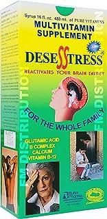 Desesstress Plus Liquid B-Complex - Complejo B para Reactivar Tu Cerebro - 16 Fl Oz