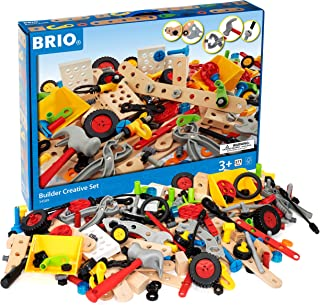 Brio World - 34589 Builder Creative Set | 271 Piece Construction Set for Kids Age 3 and Up