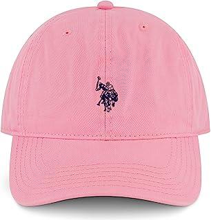 U.S. POLO ASSN. Concept One Small Polo Pony Logo Baseball Hat, 100% Cotton, Adjustable Cap
