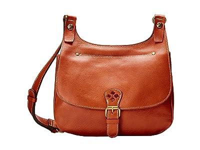 Patricia Nash London Crossbody (Tan) Cross Body Handbags