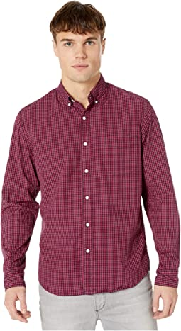 Parker Gingham Red/Navy