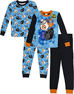 Boys' Big Star Wars 4-pc Pajama, 2 Sets-Long Sleeve & Pant