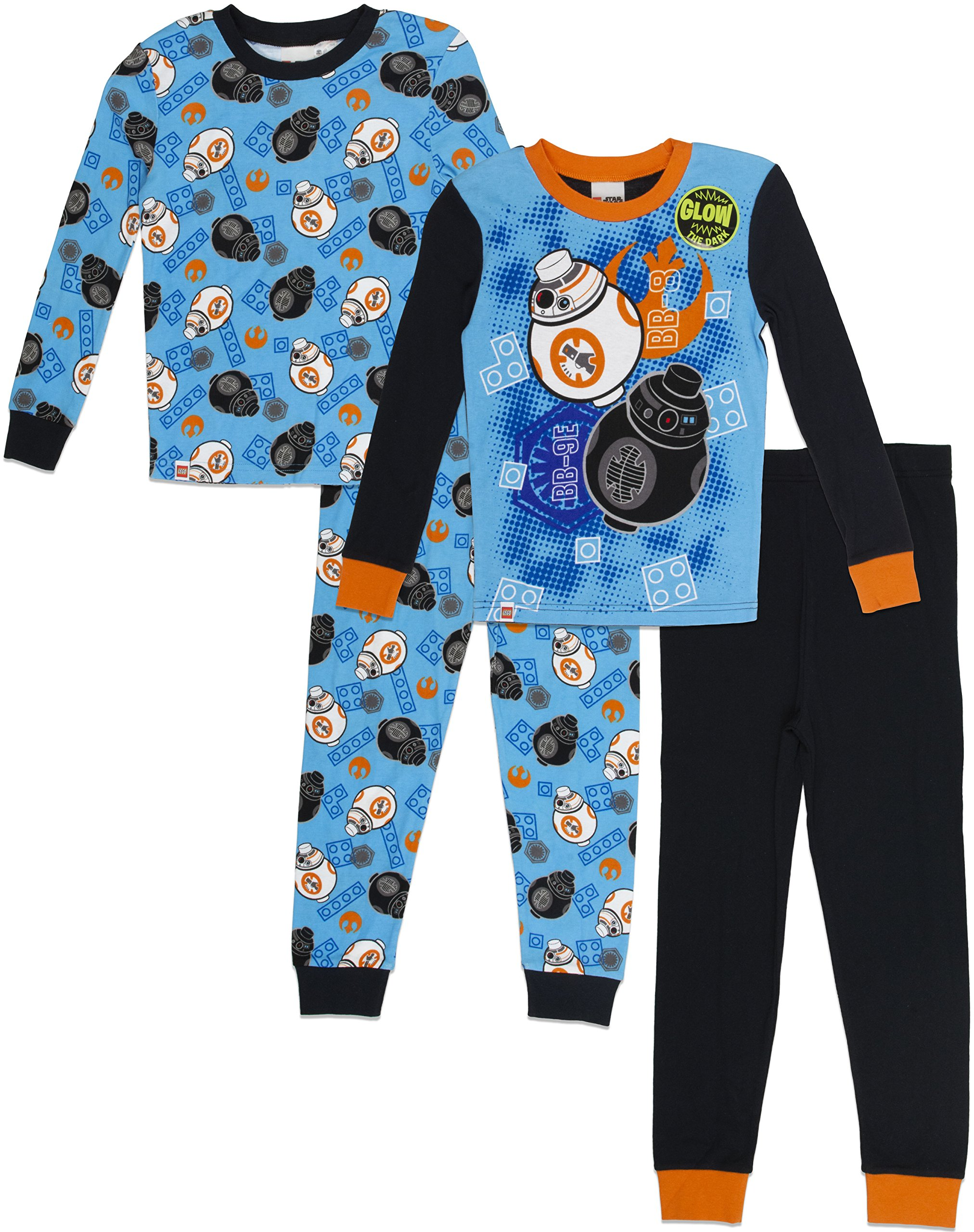 Lego Star Wars Boys 4pc Pajama Pant Set Options