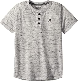 Hurley Kids Cloud Slub Henley (Big Kids)