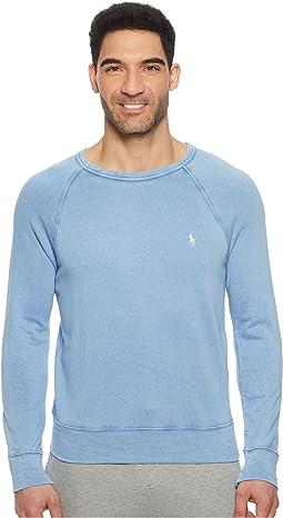 Polo Ralph Lauren - Spa Terry Long Sleeve Knit Sweatshirt