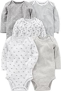 Baby 5-Pack Long-Sleeve Bodysuit
