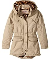 Urban Republic Kids - Cotton Twill Anorak with Faux Fur Lining (Little Kids/Big Kids)