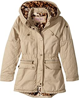 27231676 Search Results. Khaki. 98. Urban Republic Kids. Cotton Twill Anorak with Faux  Fur ...