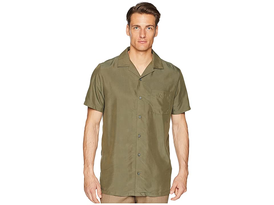 onia Vacation Shirt (Deep Sage) Men