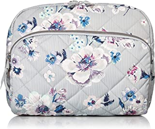 Vera Bradley Women's Performance Twill Lay Flat Cosmetic Makeup Organizer Bag