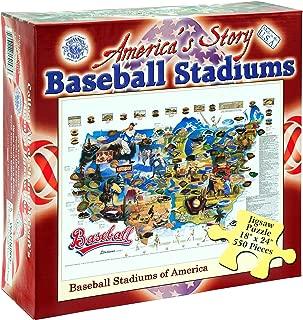 Baseball Stadiums 550 Piece Jigsaw Puzzle