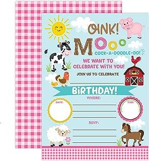 Best barnyard birthday invitations Reviews