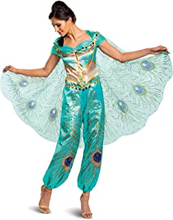 Women's Jasmine Teal Deluxe Adult Costume