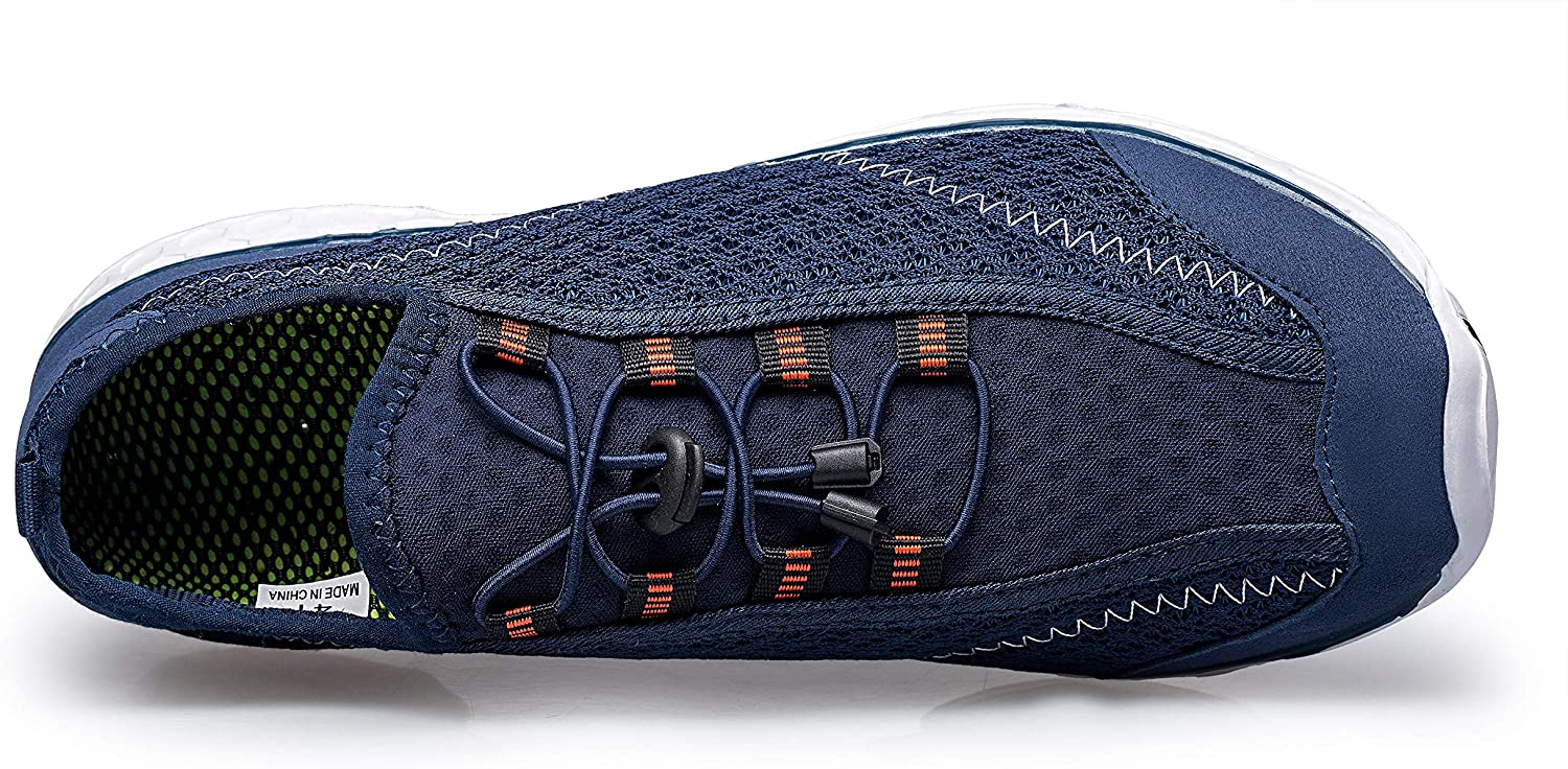 Buy Alibress Men's Water Shoes Lightweight Quick Dry Aqua Beach Shoes  Online in Italy. B07MQCZNQT