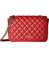 LOVE Moschino - Quilted Crossbody Chain Strap