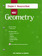Holt Geometry © 2007: Resource Book with Answers: Chapter 4