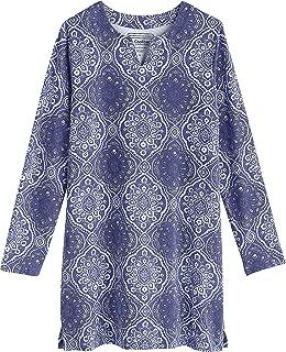 Coolibar UPF 50+ Girl's Oceanside Tunic Dress- Sun Protective