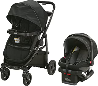 Graco Modes Click Connect Travel System with SnugRide SnugLock 35 Infant Car Seat, Dayton