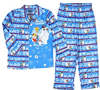 Frosty the Snowman Little Boys' Frosty the Snowman Christmas Pajama Set