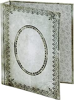 Tim Holtz Tattered Worn Binder Idea-Ology, 2-Ring, 5 x 7 x 1 Inches, Black/White (TH93589)