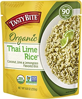 Preferred Br and s Int'L Inc Rice, Thai Lime, 8.80-Ounce (Pack of 6)