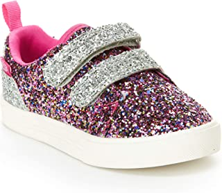 OshKosh B'Gosh Kids Lyric Girl's Glittery Casual Slip-on Sneaker