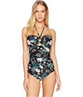 Kate Spade New York - Playa Carmen Bandeau Halter One-Piece Swimsuit