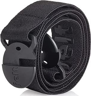 Elastic Stretch Belt | For Women & Men | Non-Metal | Black Belt