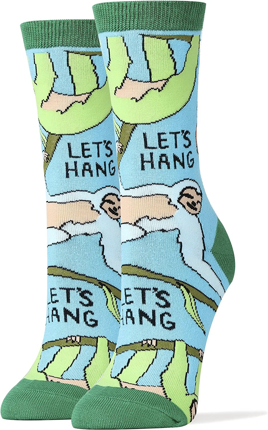 A surprise price is realized Oooh Yeah Womens Funny Novelty Hang Genuine Socks Lets Sloth
