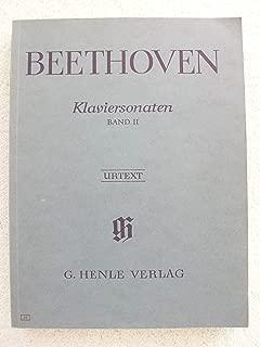Beethoven: Klaviersonaten, Band II (Piano Sonatas, Volume 2) (Urtext)
