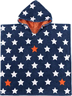 Child 100% Cotton Hooded Towel 24'' x 48'' (Star)