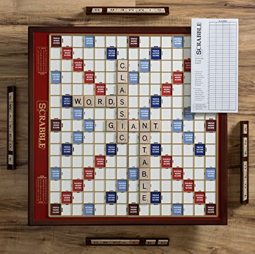 Deluxe Giant Scrabble Game by Winning Solutions