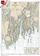Paradise Cay Publications NOAA Chart 13293: Damariscotta: Sheepscot and Kennebec Rivers; South Bristol Harbor 21.00 x 29.19 (SMALL FORMAT WATERPROOF)