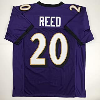Unsigned Ed Reed Baltimore Purple Custom Stitched Football Jersey Size Men`s XL New No Brands/Logos