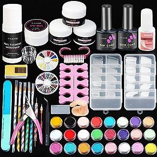 MAANGE Acrylic Nail Kit, Nail Acrylic Powder and Liquid Set with Everything Nail Art Decoration Tools Professional Manicur...