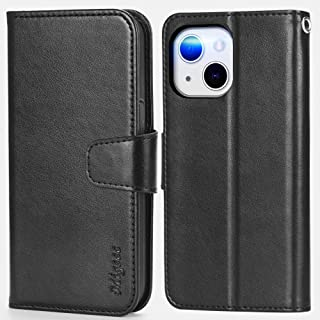 Migeec Compatible with iPhone 13 Case with RFID Blocking Card Holder Phone Stand Wallet Case Cover for iPhone 13 6.1 inch...