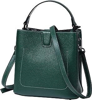 حقائب هوبو صغيرة للنساء حقائب جلدية مصمم الكتف دلو كروسبودي محفظة