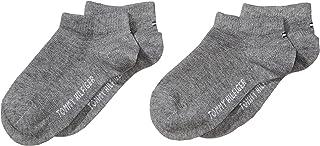 2-Pack C, Calcetines de Ribetes de Punto Elástico para Niñas