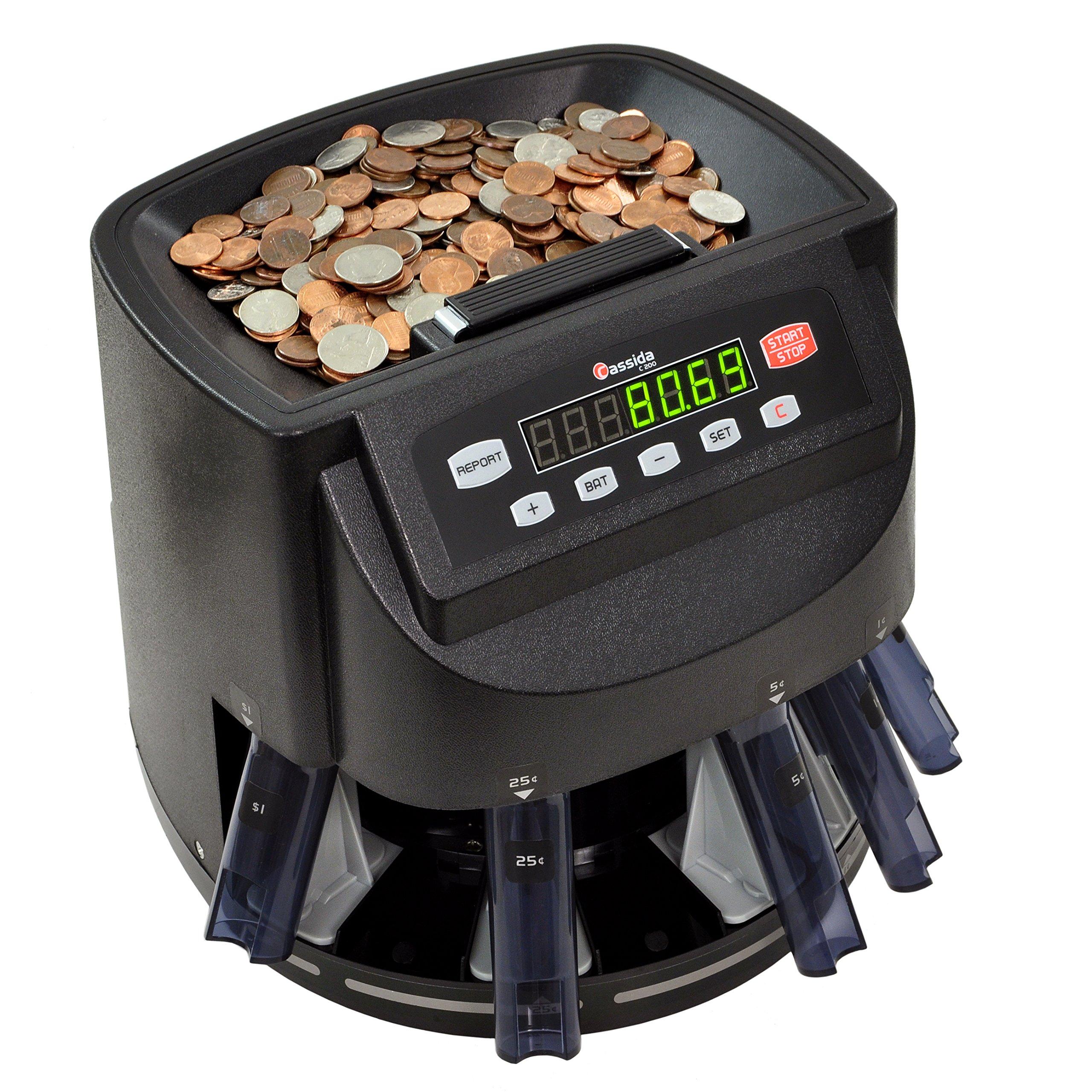 Cassida C200 Sorter Counter Roller