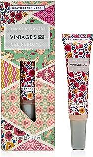 Heathcote & Ivory Ltd Vintage Fab and Flowers Perfume Gel, 15 count