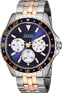 GUESS Two-Tone Chronograph Watch NS Silver