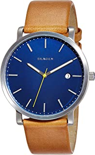 (Renewed) Skagen Hagen Analog Blue Dial Mens Watch - SKW6279#CR