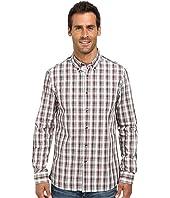Kenneth Cole Sportswear - Long Sleeve Slim Plaid Shirt