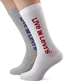 Levis Vintage Cut Sprt Sock Unisex 2p Calcetines, (Pack de 2) para Hombre