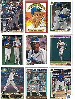 Ken Griffey Jr. / 50 Different Baseball Cards Featuring Ken Griffey Jr.! No Duplicates